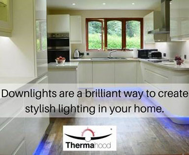 downlights are a brilliant way to create stylish lighting in your home