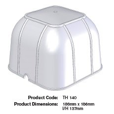Thermahood Square Downlight Cover