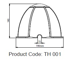 TH 001 - Dimensions